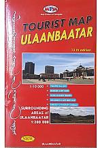 Улаанбаатар хотын газрын зураг
