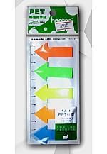 Тэмдэглэл цаас 5 өнгөтэй шугамтай