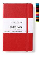 Minimalism : Тэмдэглэл дэвтэр А4  улаан