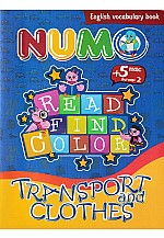 Read find color : Transport and Clothes